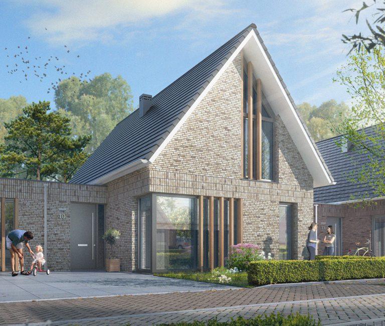Woning veld B – Hadwil-Mix Uchelen-buiten Semi-bungalow Straatzijde web – aangepast