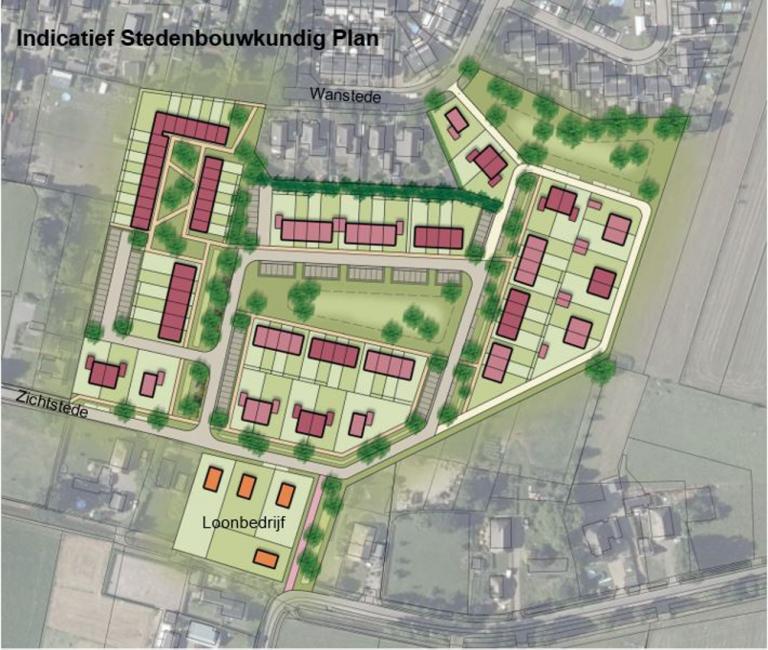 indicatief stedenbouwkundig plan vaassen